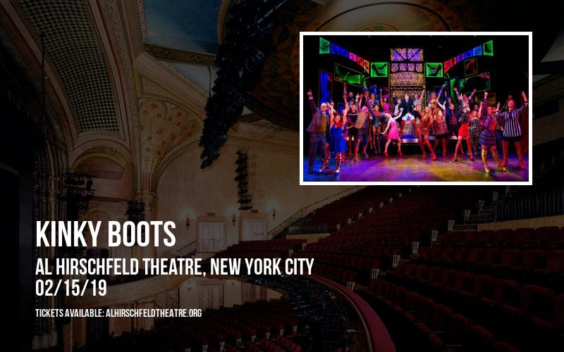 Kinky Boots at Al Hirschfeld Theatre