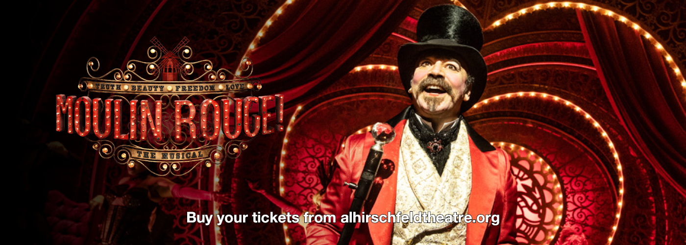 Moulin Rouge The Musical Al Hirschfeld Theatre