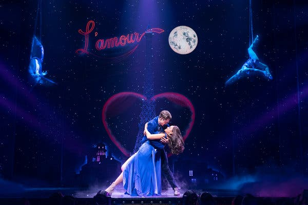 Moulin Rouge - The Musical at Al Hirschfeld Theatre